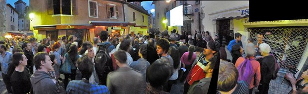 The Annecy Plus screening. Photo by Chris Landreth.