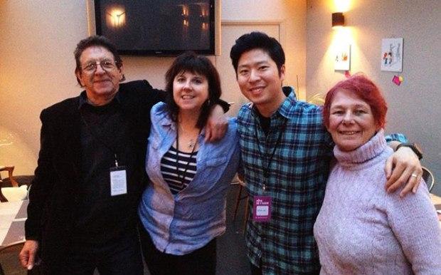 Les, Joanna, Erick and Nancy.