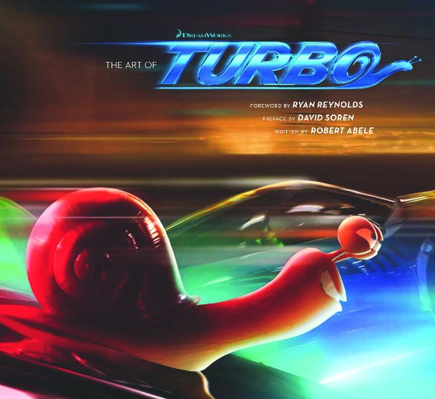 The Art of Turbo. All images courtesy of Insight Editions.