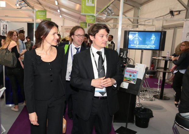 MIFA head Mickaël Marin (right) has made the event one of the most important markets in the industry.