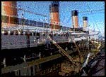 The giant set of Titanic. © 1997 Paramount Pictures and Twentieth Century Fox. All rights reserved.