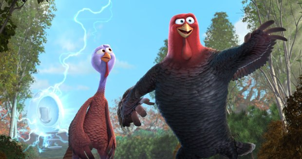 Free Birds. Image © 2013 Turkey's Films, LLC. All Rights Reserved.