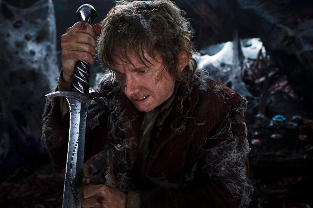 The Desolation of Smaug. Image © 2013 Warner Bros. Entertainment Inc. and Metro-Goldwyn-Mayer Pictures Inc.