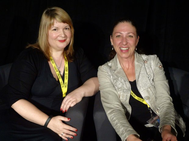 Shari Cohen and Monica Szenteszky of the Ontario Media Development Corporation