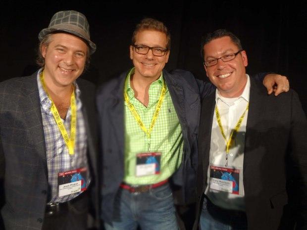 Bounty Hunters panel: Jesse Prupas, Eric Hortsed, Cory Morrison
