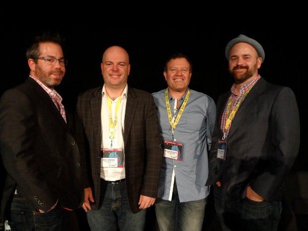 Digital Distribution Panel: Matthew Wexler, Josh Scherba, Sander Schwartz, Mike Valiquette