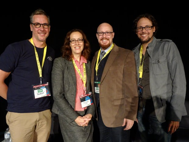 Making the Leap: Tom McGillis, Mary Bredin, Kyle Mac Dougall, Travis Williams