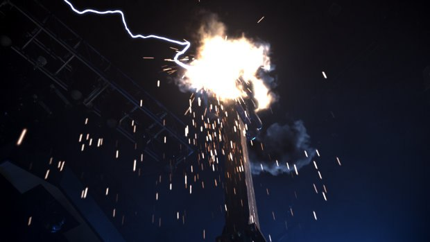 Opus' main involvement was concert footage augmentation, enhancing the onstage effects such as smoke, sparks, lighting effects, explosions and a wide range of particle effects.