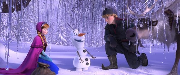 Anna, Olaf, Kristoff and Sven.