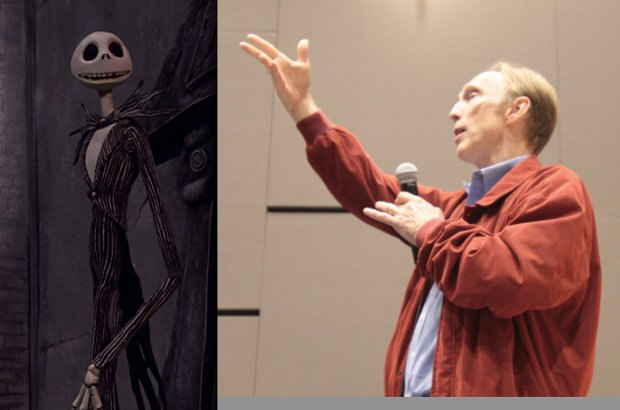 Jack Skellington and his director, Henry Selick.  Photo by Tristan Corbeil Lapointe.