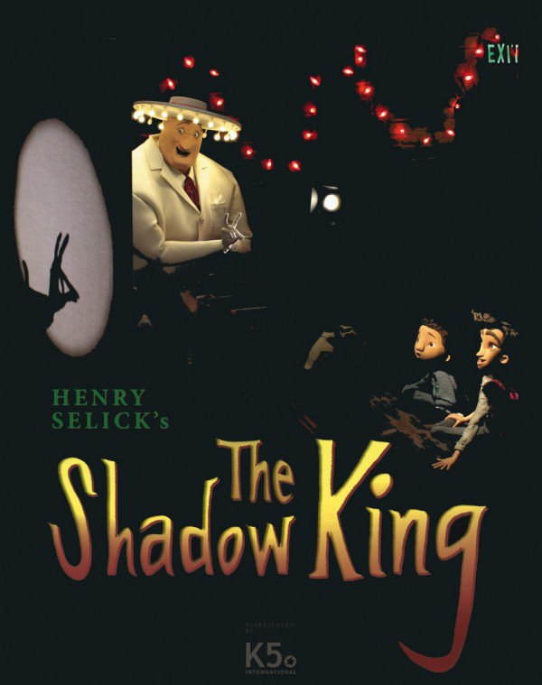 The teaser poster for Selick's The Shadow King.