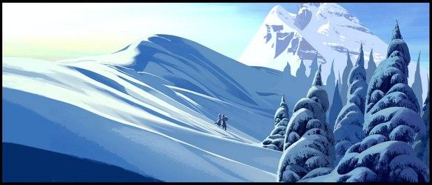 Frozen concept art.