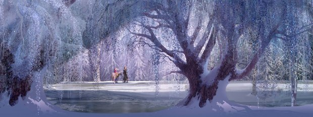 Frozen concept art.