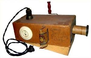 My original hand made projector.