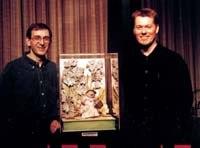 Les maîtres créateurs de marionnettes, Mackinnon & Saunders, avaient apporté une marionnette de Brambly Hedge to au festival. Crédit Folioscope..