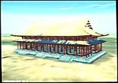 Reconstruction CAO de l'architecture traditionnelle japonaise par Taisei Corporation. Image © Taisei Corporation, crédit IMAGINA.