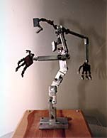 This armature is for a genie character. Photo courtesy of and © Tom Brierton.