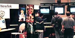 More than 60 companies exhibited at the New Animation Technology Expo, which will move to Silicon Valley in 1999. Photo courtesy of Michelle Klein-Häss.