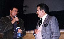 Luca Raffaelli, Cartoombria Director, and Pierluigi De Mas, ASIFA Italia President. Photo courtesy of Chiara Magri.