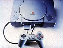 PlayStation, the gaming console dominating the U.S. market. © Sony Computer Entertainment of America.