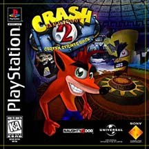 After his first self-titled game sold over 1.5 million units, the character Crash Bandicoot has become something of a mascot for Sony PlayStation. Now Crash is back in Crash Bandicoot 2: Cortex Strikes Back. © Sony Computer Entertainment