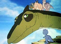 The Land Before Time V: The Mysterious Island. © Universal Studios Home Video.