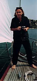 oTTo Alder on board. Photo © Paul Bush.