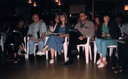 The KROK International Jury. Left to right: Monique Renault, Raoul Servais, Natalya Orlowa, Igor Volchek, Natalya Chernyosova. Photo © oTTo Alder.