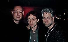 Thomas Basgier, oTTo Alder and Ron Diamond. © 1997 Animation World Network.