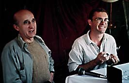 Polish animators Jerzy Kucia (left) and Piotr Dumala. © 1997 Animation World Network. Don't miss our interview with these two filmmakers in an upcoming issue of Animation World Magazine.
