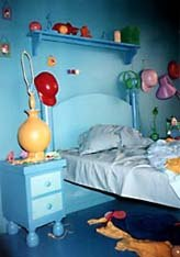 Bart's room. © 1997 Animation World Network.