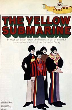 Animation director Jack Stokes made an extremely rare public appearance with an uncommon screening of Yellow Submarine.