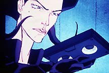 Aeon Flux started as a segment on Liquid Television, then became a full series on MTV. © MTV Networks.