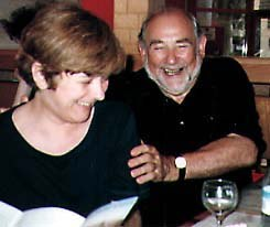 Clare Kitson and John Coates visited Tel-Aviv from England.
