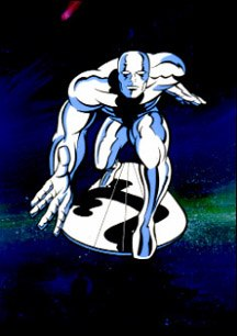 Silver Surfer, the comic book published by Marvel, is now in production as an animated series from Saban.
