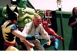 Stan Lee with his