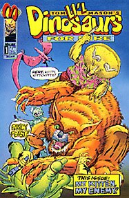 Li'l Dinosaurs for Hire, a comic book created by Tom Mason and published by Malibu Comics.