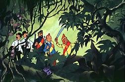 Tintin et le temple du soleil. © Belvision.