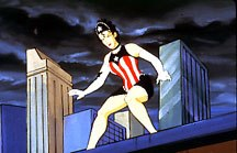 Another superhero character from The Tick animated series. © Fox Children's Network.
