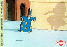 The Blue Arrow by Enzo d'Aló.