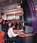 Softimage booth at the MIFA