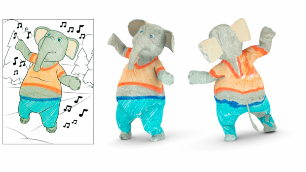 Disney Research App Turns 2d Drawings Into 3d Characters