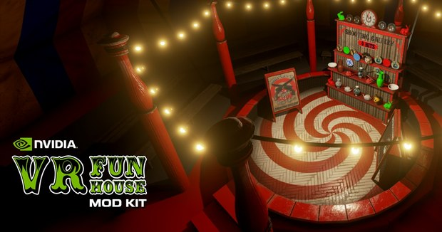NVIDIA Releases Mod Editor for VR Funhouse in Epic Games Launcher