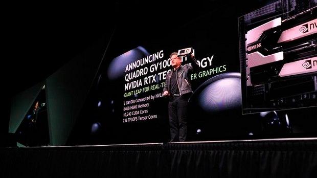 NVIDIA Quadro GV100 GPU Adds Ray Tracing Abilities