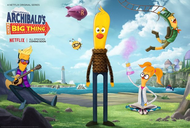 Three New DreamWorks Animation Television Series Coming to