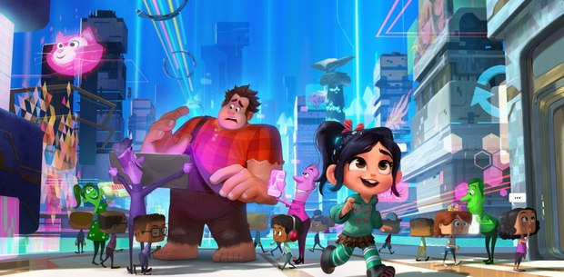 Visualizing And Building The World Of Ralph Breaks The