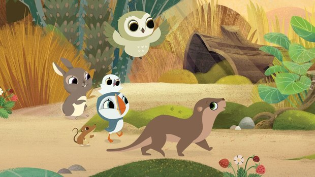 Puffin Rock' Gets Greenlit for the Big Screen! | Animation