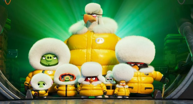 Frenemies Unite Against an Icy Foe in 'The Angry Birds Movie