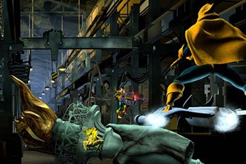 From left to right, villains Scream, Doctor Octopus and Hobgoblin. Final render lighting by Greg Juby, Jeffery A. Williams and Dana Peters. © Universal Studios Escape; image courtesy of Kleiser-Walczak.