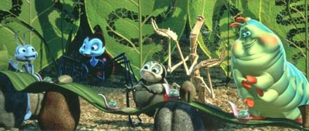 The Collector's Editon of A Bug's Life offers an in-depth look at the animation process for students of the art form. © Disney Enterprises, Inc./Pixar Animation Studios. All rights reserved.